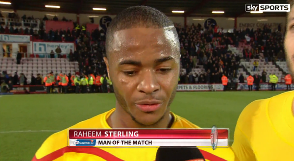Brendan Rodgers Recognizes Raheem Sterling's Effort in Win Against Bournemouth