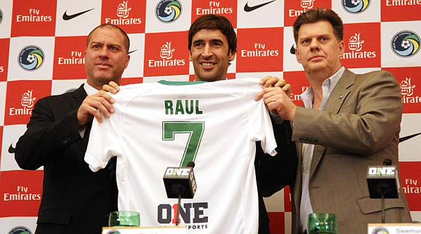 New York Cosmos Ready to Tap Raul's Experience and Passion