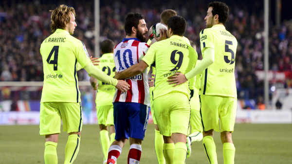 Diego Simeone credits Barcelona's recent form to arrival of Luis Suarez