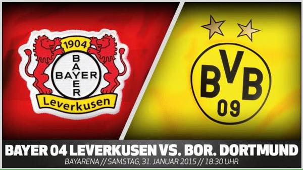 Preview: Bayer Leverkusen vs Borussia Dortmund; 12:30pm ET kickoff