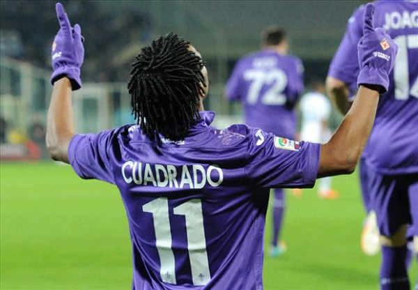 Juan Cuadrado's Chelsea move dependent on the futures of Andre Schurrle and Mohamed Salah