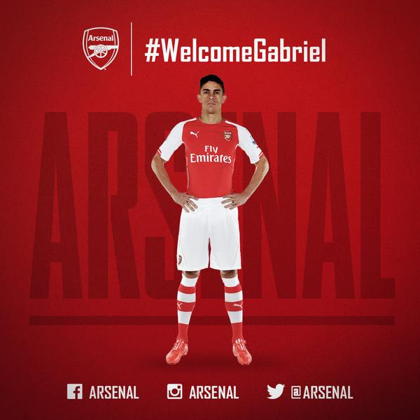 Gabriel Paulista ready to take game to next level after joining Arsenal