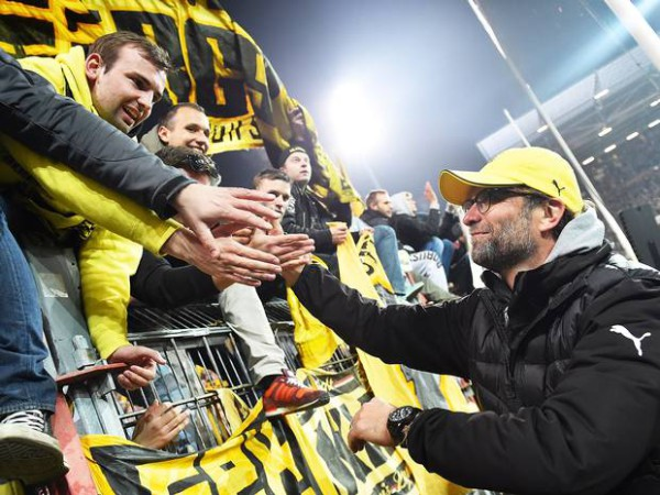 Klopp 600x450 Jurgen Klopp confident Borussia Dortmund will stay up and that star players will remain