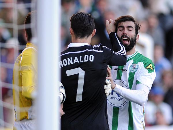 Cristiano Ronaldo handed two-match ban for violent conduct
