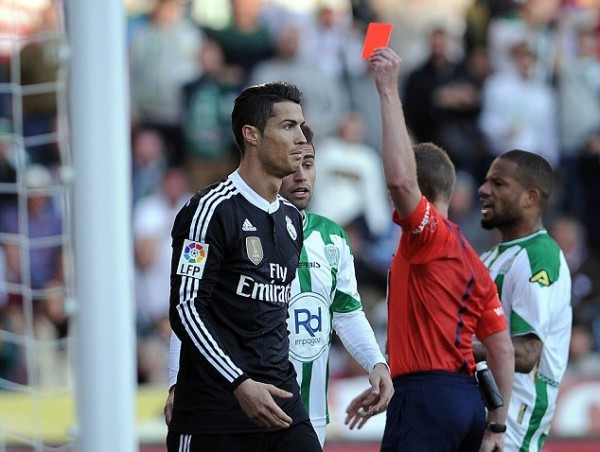 Cristiano Ronaldo likely to see further suspension following red card