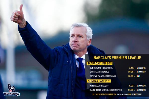 Premier League Saturday, Gameweek 21: TV Times and Open Thread
