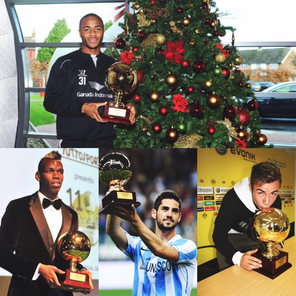 Where Are They Now: Previous Winners of Soccer's Golden Boy Trophy