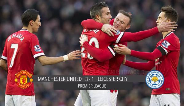 Watch Manchester United 3-1 Leicester match highlights [VIDEO]