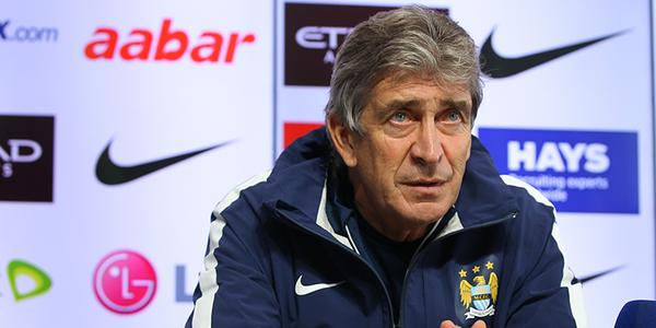 Manuel Pellegrini says this season was easier for him at Manchester City