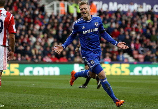 Wolfsburg on the verge of completing deal for Chelsea forward Andre Schurrle