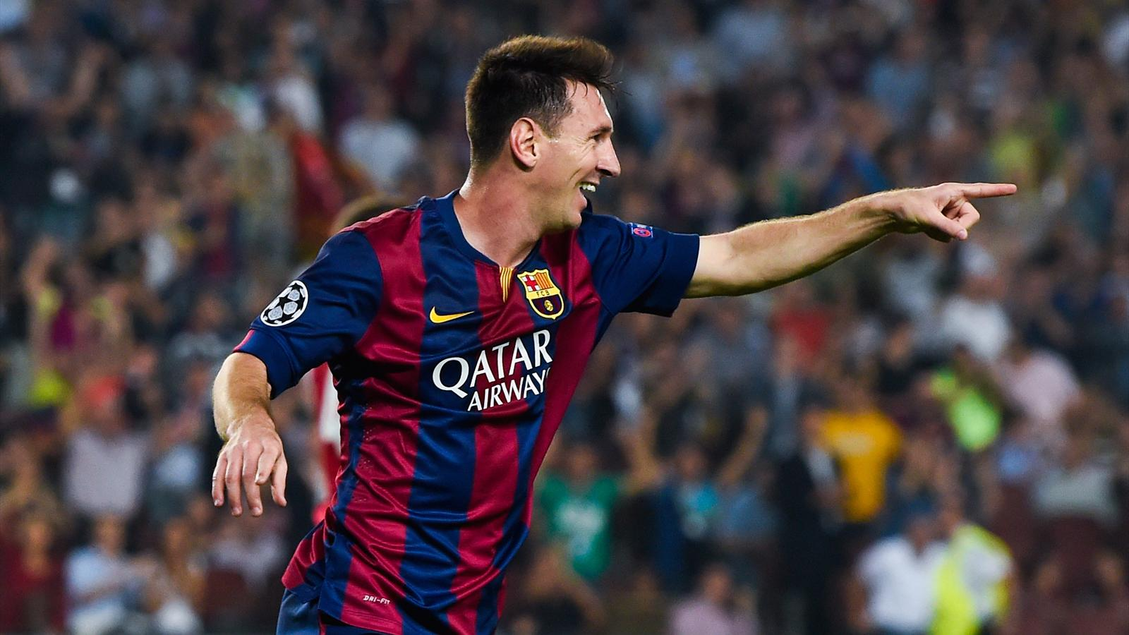 Rejuvenated Lionel Messi leading Barcelona's title charge - World ...