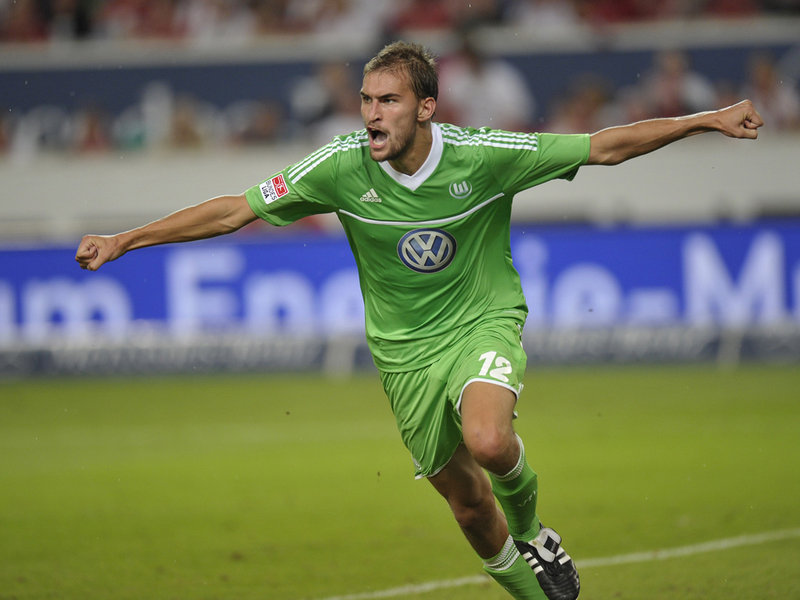 VfL Wolfsburg's Bas Dost is one of Europe's most clinical strikers