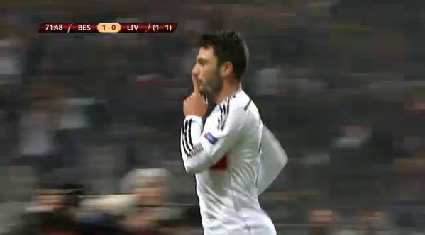 Watch Besiktas 1-0 Liverpool match highlights (5-4 on penalties) [VIDEO]
