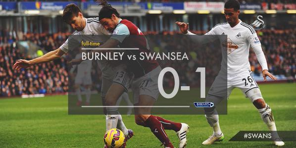 Watch Burnley 0-1 Swansea match highlights [VIDEO]