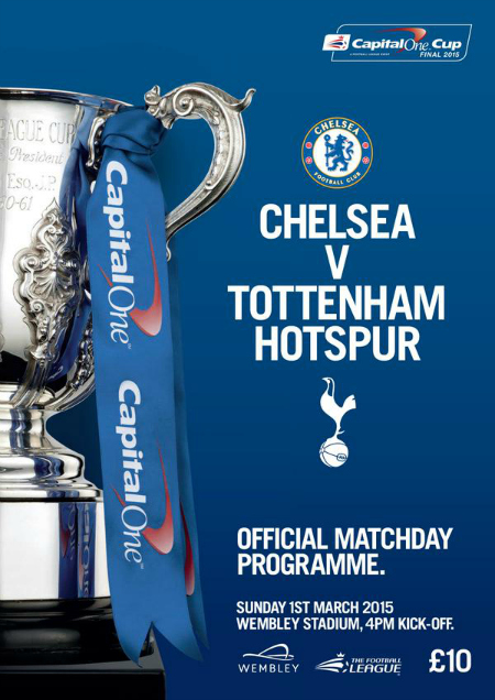 Chelsea vs Spurs, Capital One Cup Final: TV times and open thread