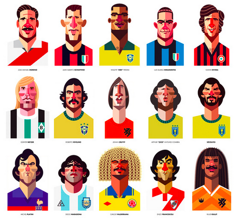 Interview with Daniel Nyari, graphic designer and illustrator, about art and soccer