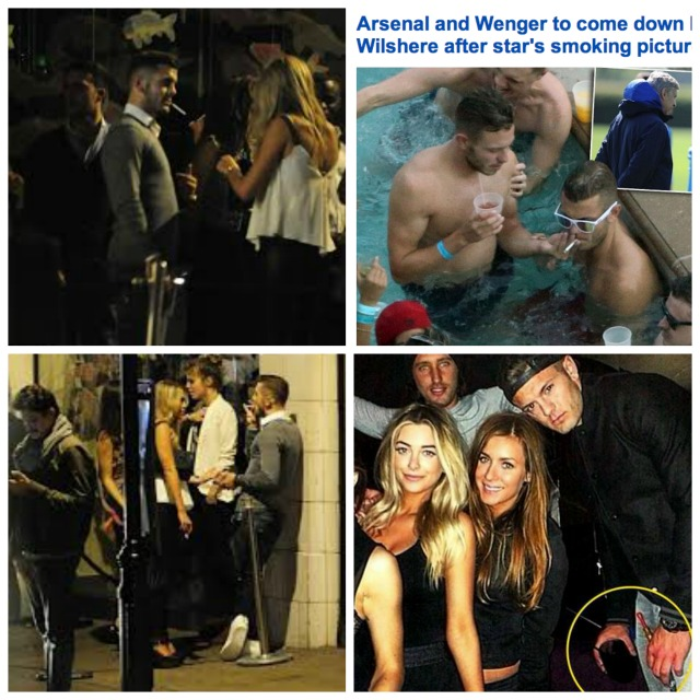 Wilshere PR machine in full swing, but Rangers hanging ... |Jack Wilshere Smoking