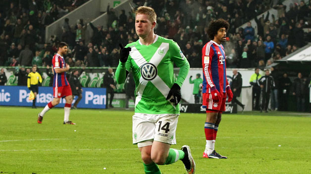 Report: Manchester City has reached an agreement with Wolfsburg for Kevin de Bruyne