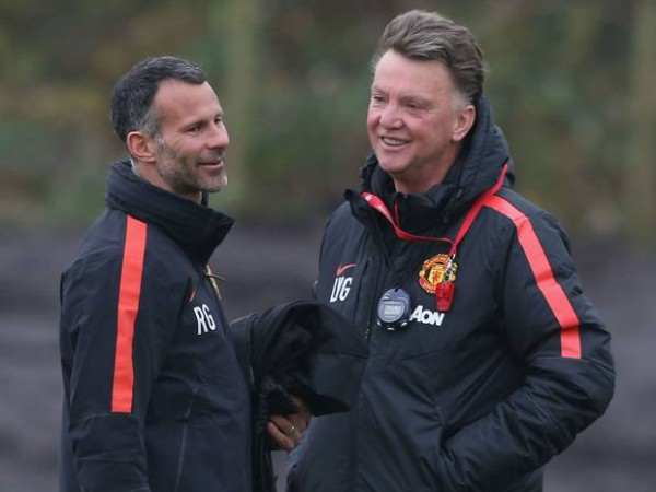 Ryan Giggs praises relationship with Louis van Gaal