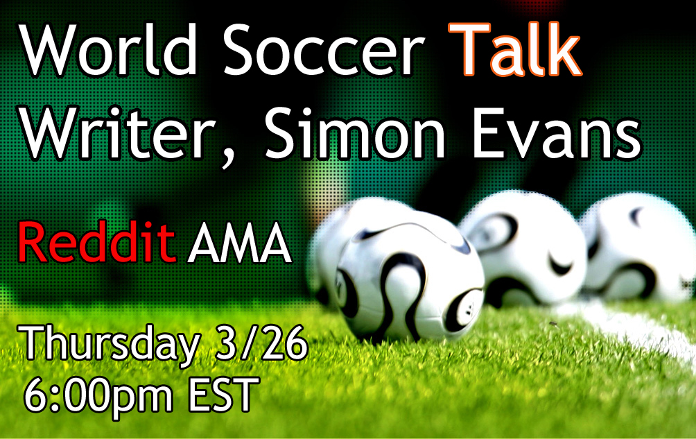 Join the live Reddit AMA with Simon Evans beginning at 6pm ET
