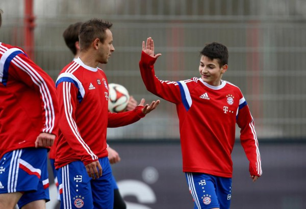 Bayern Munich eager to sign 15-year-old Croatian wonderkid Toni Trograncic