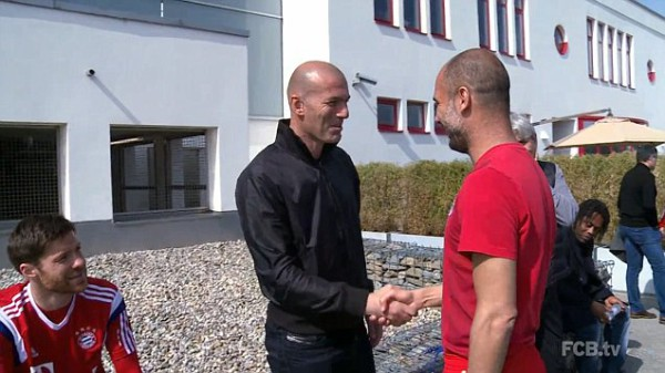 Zinedine Zidane praises Bayern Munich during 3-day visit [VIDEO]