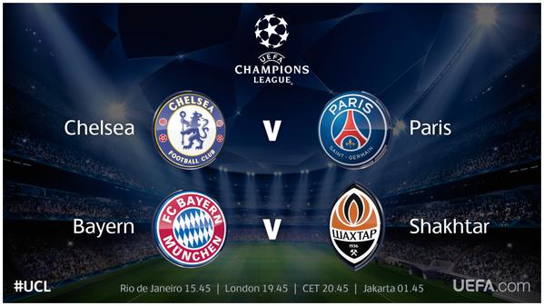 champion league games today