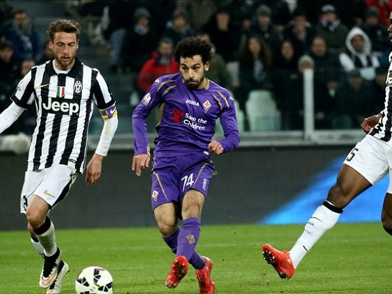 On-loan Chelsea attacker Mohamed Salah making a big impact for Fiorentina