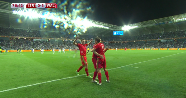 Gareth Bale scores exquisite free kick for Wales against Israel [VIDEO]