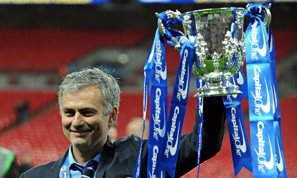 Jose Mourinho elated to end Chelsea trophy wait against Spurs in League Cup Final