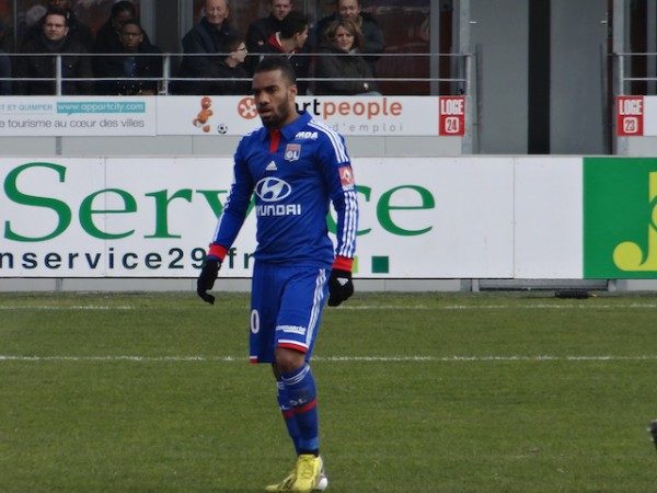 In demand Lyon striker Alexandre Lacazette still has a lot to learn