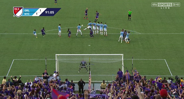 Orlando City 1-1 New York City FC match report; By Kartik Krishnaiyer
