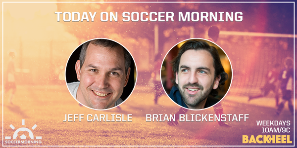 Listen to Soccer Morning with Jeff Carlisle on MLS strike threat and Brian Blickenstaff live from 10-11am ET