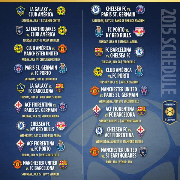 International Champions Cup: International Champions Cup Creates Dilemmas For MLS Clubs