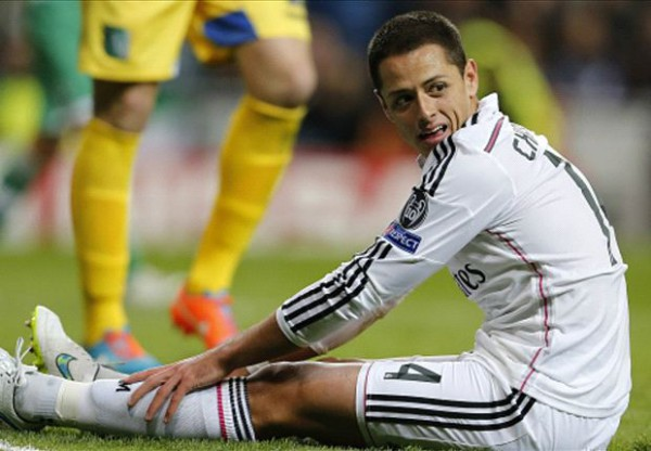 Louis van Gaal rules out Chicharito return to Manchester United