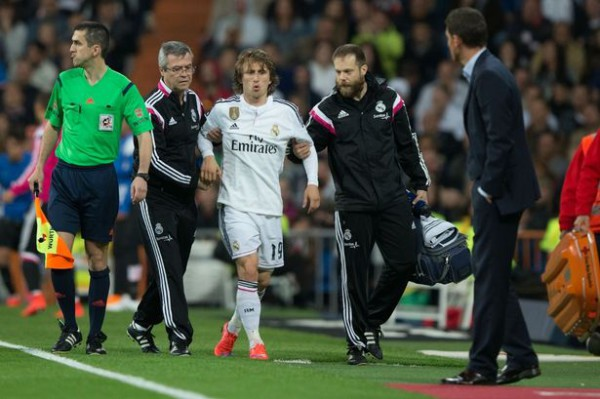 Real Madrid's Luka Modric ruled out for six weeks with knee ligament damage