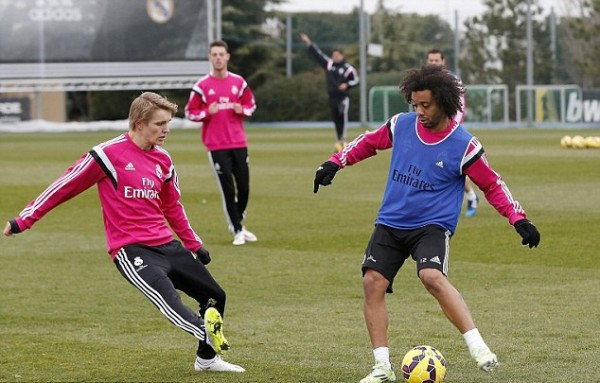 Martin Odegaard will be included in Real Madrid squad for Wednesday's match