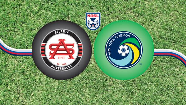 New York Cosmos face Atlanta Silverbacks in NASL top of the table weekend clash