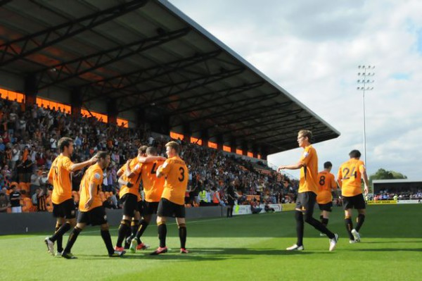 An American travels to Barnet to experience club's promotion to Football League