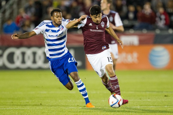 Colorado Rapids score late to earn 1-1 draw against 10-man FC Dallas