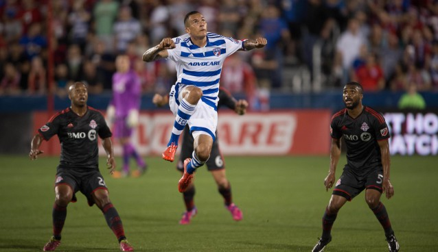 FC Dallas holds on for 3-2 win over Toronto FC after 3 hour rain delay