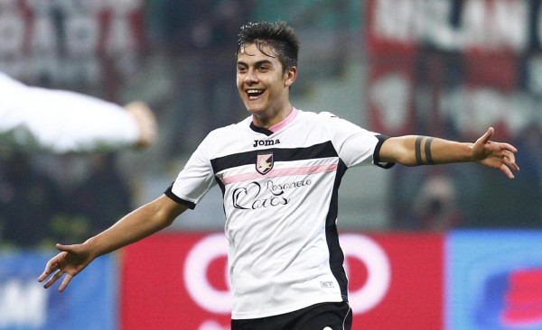 Palermo striker Paulo Dybala wants to play for Arsenal