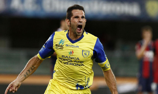 A tribute to a Chievo Verona hero Sergio Pellissier