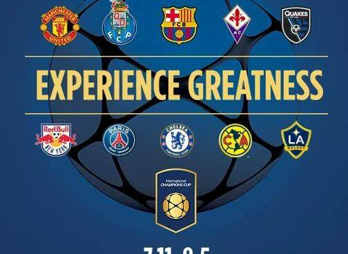 International Champions Cup organizers reveal cities and schedule for North America matches