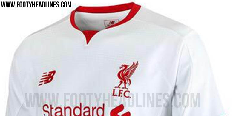 cheap for discount 546d0 3016d Liverpool away shirt for 2015-16 season from New Balance ...