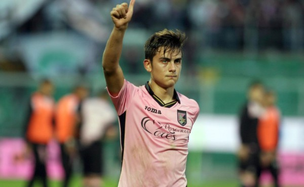 Palermo striker Paulo Dybala is one of the hottest properties in world soccer