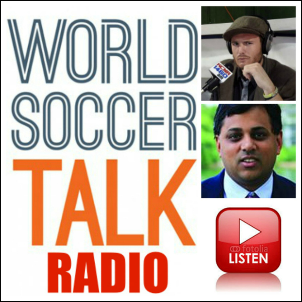 Listen to World Soccer Radio live from 9-10pm ET with guest Kartik Krishnaiyer