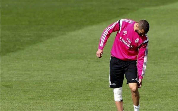 Karim Benzema not included in Real Madrid squad against Juventus