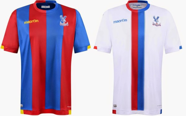 Crystal Palce 2015 16 home away kits released 600x373 Crystal Palace unveil home and away shirts for 2015 16 season: Official [PHOTOS]