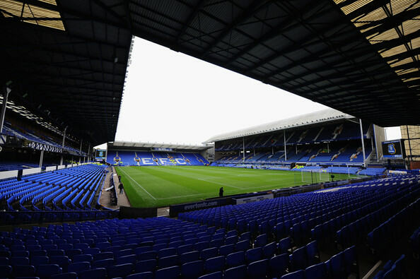 An American travels to Goodison Park to watch his beloved Spurs